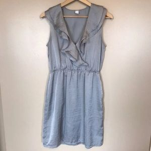 👉🏻 Old Navy Silver Dress With Pockets
